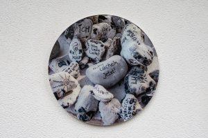 Acryglas Druck rund – Kraftsteine